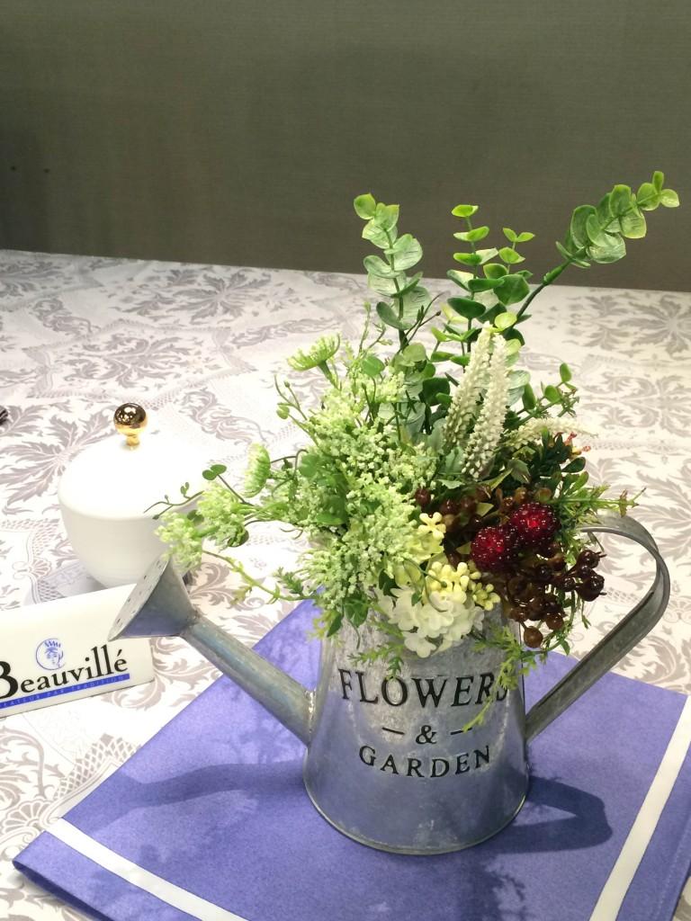 ☆暑い夏に集中力をアップする花と風水のコラボレッスン☆