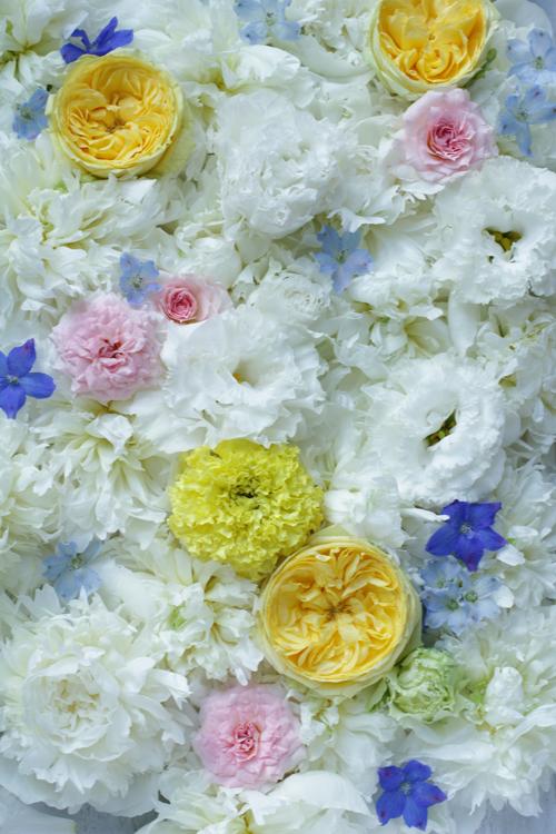 ウエディングの花装飾